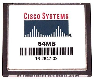 2x Cisco 64MB Flash or Cisco 64MB Compact Flash CF Card CCNA CCNP CCIE