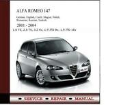 Alfa Romeo 147 Manual