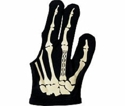 Voodoo Large Bone Pool Glove - Skeleton Design - Billiard Glove - SHIPS FAST!