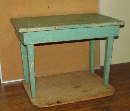 Antique Childs Table Ebay