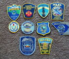 Lot of 2 Collectible Police Patches