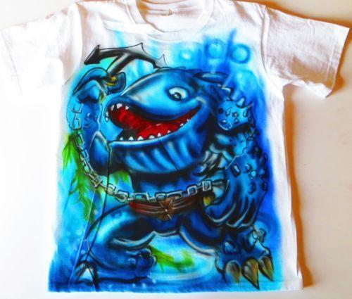 Custom airbrush shirts ebay for Custom made airbrushed shirts