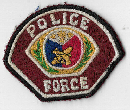 Obsolete Philippine Police Force Patch