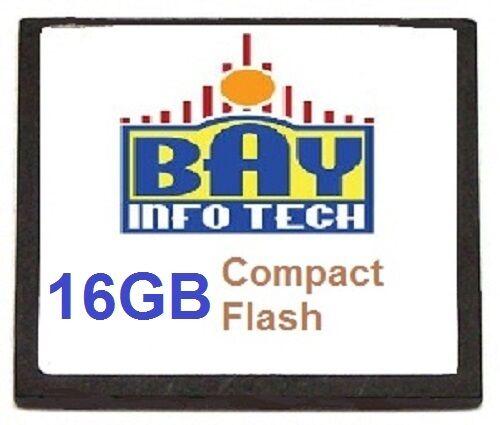 MEM-FLASH-16GB 16G Compact Flash Memory Spare 3rd Party Upgrade Cisco ISR 4450