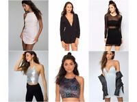 Joblot of Motel Rocks designer clothing x 100 Brand new with tags