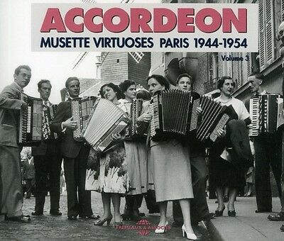 Accordeon - Vol. 3-Accordeon 1944-1954 [New CD] France - Import