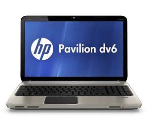 HP Pavillion DV6-6195CA, Intel i7 processor, 750GB, 8GB mem....