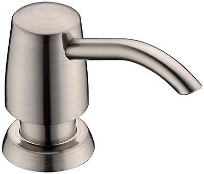 Melix Melix Kitchen Sink Soap Dispenser, Brushed Nickel Sink Soap Dispenser New