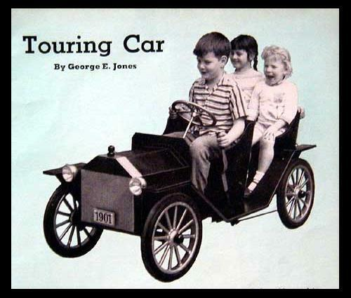 Sidewalk Touring Classic Car How-To build PLANS *Beauty*