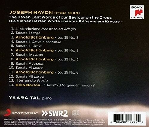YAARA TAL - SEVEN LAST WORDS  CD NEU