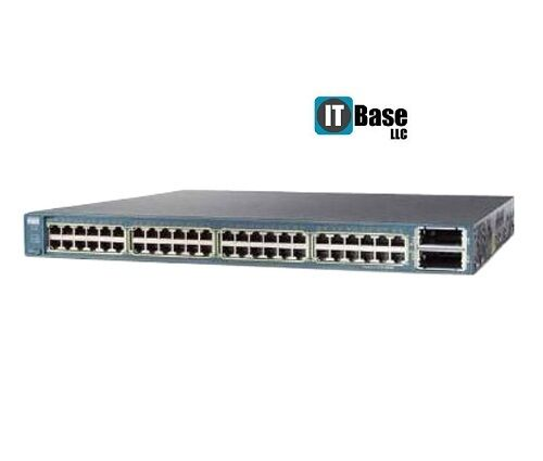 Cisco 3560e Switch Ws-c3560e-48td-s 48 10/100/1000 Ports Switch