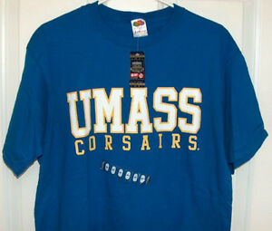 Umass Corsairs Officially Licensed Large T Shirt