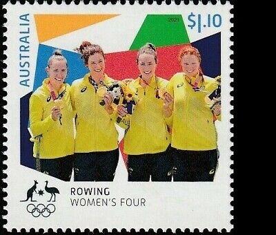 Australia MNH MUH - 2021 Tokyo 2020 Olympic Gold Medallist: Rowing Women's Four