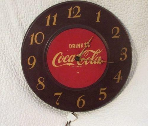 Vintage Advertising Wall Clock Ebay