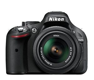 Nikon D5200 24.1 MP DSLR Camera with 18-55mm Lens Kit