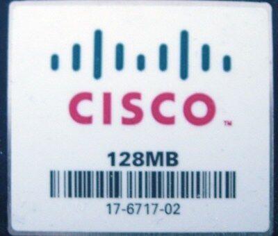 Cisco 128MB Flash or Cisco 128MB Compact Flash CF Card CCNA CCNP CCIE