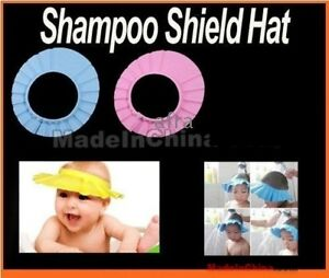 ❤✿Baby Kids Bathing Cap Shampoo Shower Protect Hat ✿❤