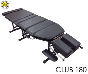 Chiropractic Therapy Table Adjustment Bed Portable Treatment Table CLUB 180
