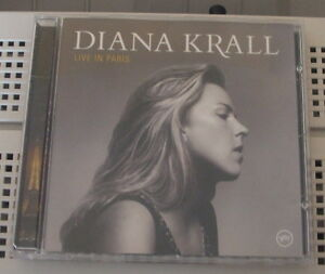 "CD - Diana Krall ""Live in Paris"""
