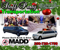 Staff Holiday Party Limo Shuttles
