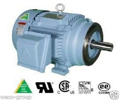 HHI50-12-365TC 50 HP, 1200 RPM NEW HYUNDAI PREM EFF C FACE ELECTRIC MOTOR