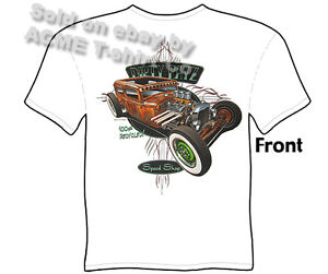 Hot-Rods-T-Shirt-30-31-Rat-Rod-Tudor-1930-1931-Ford-Tee-Sedan-Sz-M-L-XL-2XL-3XL