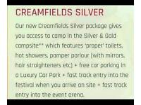 Silver creamfields tickets