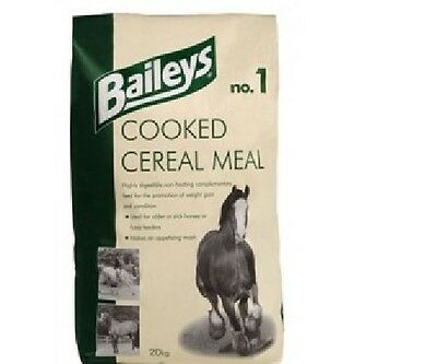 Baileys No.1 Cooked Cereal Meal 20kg Horse Food-Feed