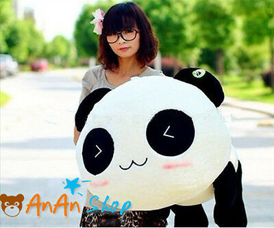 NEW 27 INCH PLUSH TEDDY BEAR CUTE PANDA SOFT TOY HOLD PILLOW BIRTHDAY GIFT