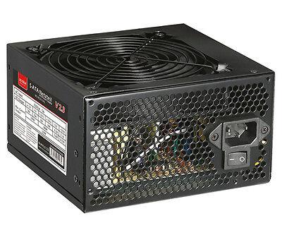 650 WATT ATX PC Computer Netzteil SATA 12cm 120mm leiser Silent Lüfter MS-Tech