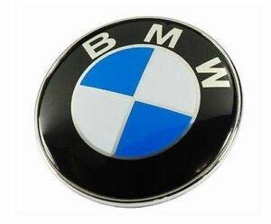 BMW-1-3-5-7-Z3-Z4-X1-3-5-E30-36-46-Series-Badge-Emblem-Logo-Bonnet-Front-82mm