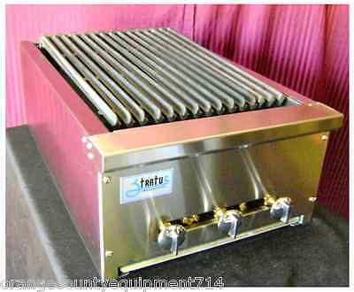 New 18 Radiant Char Broiler Grill Gas Or Lp Stratus Srb-18 1065 Commercial Nsf