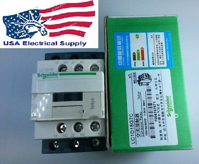 New Schneider Lc1d18g7c Contactor With Coil 120vac 5060hz