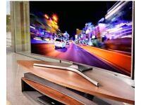 Samsung LED 65 inch 4k curved UHD HDR smart TV. Ue65mu6200 new