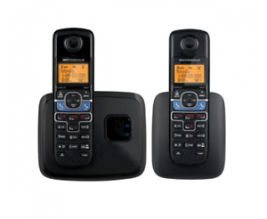 3 Cordless Home Phones, with Bluetooth for cellphone connection.