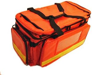 Paramedic Trauma Medical Emergency Bag (Red) **Waterproof**