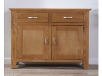 Cheadle Oak Sideboard 120cm (Relocating abroad household sale)