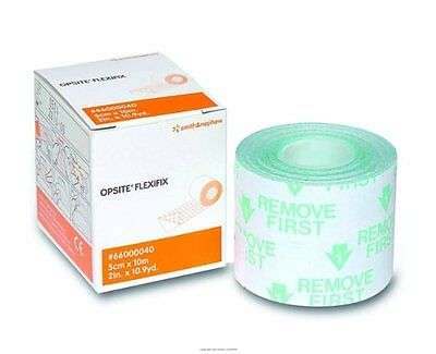OPSITE Flexifix Transparent Adhesive Film Roll Dressing, 2