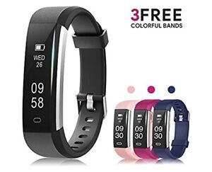 BRAND NEW Fitness Tracker with 3 Extra Bands