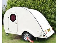 Classic Teardrop Caravan Trailer - Stunning Example - first to see will buy