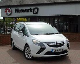 2016 Vauxhall Zafira Tourer 1.6 CDTi Design 5 door Diesel Estate