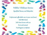 Professional qualified Nanny and Babysitter with First aid, DBS and food hygiene