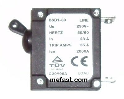 Generator Circuit Breaker 35a Trip 28a 230v G20y06a Load Tuv 50129667