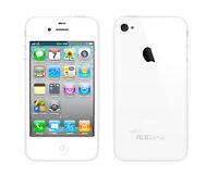 IPhone 4 - 8Gb blanc-white/  koodo-telus