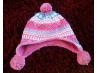 Young Girls winter hat 55cm 7_10yrs