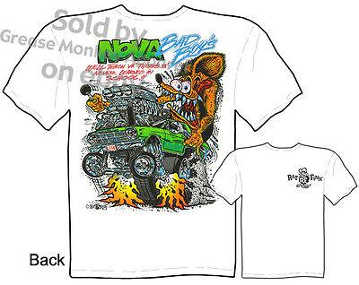 Ratfink T Shirts 62 63 64 65 Nova T Shirts 1962 1963 1964 1965 Chevy Tee Ed Roth