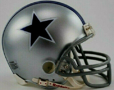 DALLAS COWBOYS THROWBACK VSR 4 NFL MINI HELMET RIDDELL NIB 1964-1966