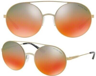 Michael Kors Damen Sonnenbrille MK1027 1193A8 55mm Cabo verspiegelt rund MKH5 H