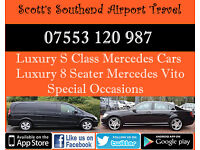 Scott's Airport Transfers Heathrow Stansted Gatwick Southend