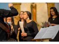 Catholic young adults folk-gospel choir seeks singers to sing at masses